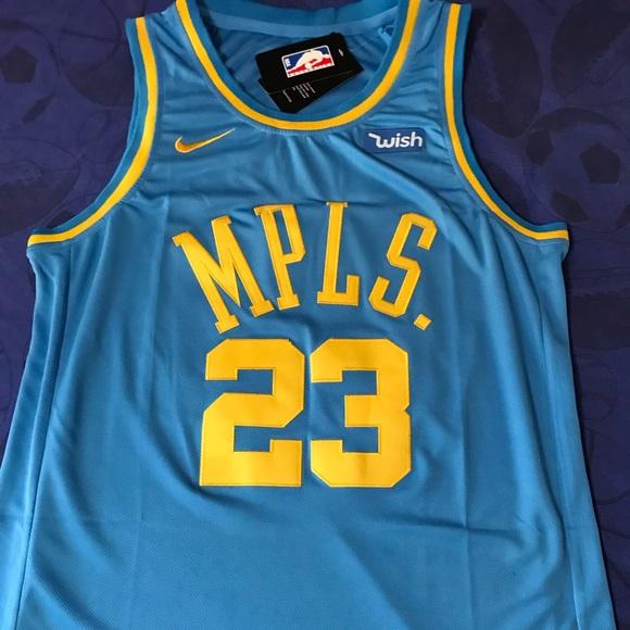 8096f97b8fa New  23 LEBRON MPLS Lakers jersey. LRG